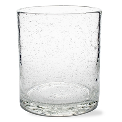 $8.50 Bubble Glass Tumbler Small