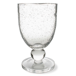 Tag   Bubble Glass Goblet $11.50