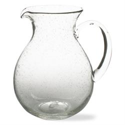$37.50 Pitcher Bubble Glass