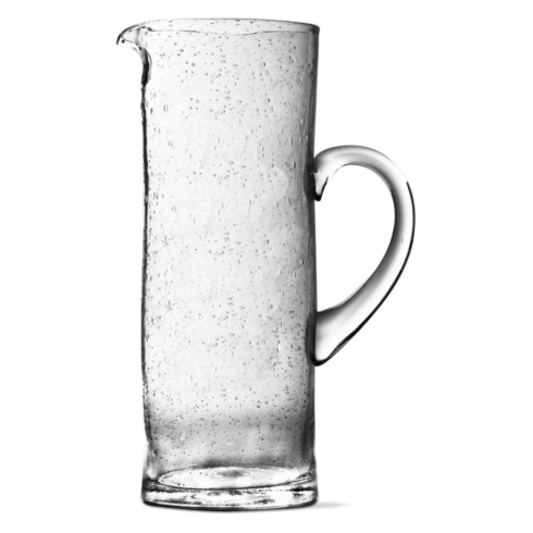 $49.50 Tall Bubble Glass Pitcher