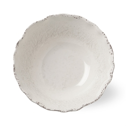 tag   Melamine Ivory Serving Bowl $27.00