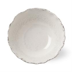 Tag   Melamine Ivory Serving Bowl $29.50
