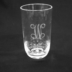 19 oz Acrylic Tumblers set/4 engraved
