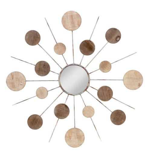 Plum Southern Exclusives   Mirror - Starburst Wood $112.50