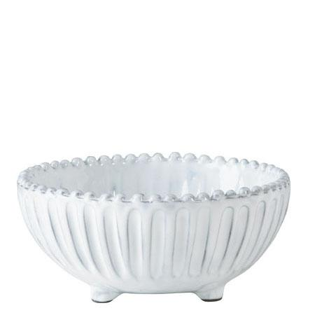 $35.00 Vietri - Incanto Footed Striped Cereal Bowl