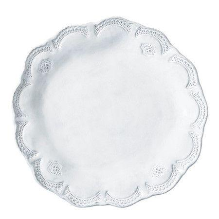Plum Southern Exclusives   Vietri - Incanto Lace Dinner Plate $50.00