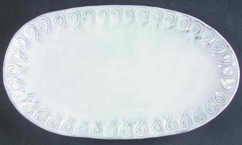 Plum Southern Exclusives   Vietri - Incanto Small Oval Platter $68.00