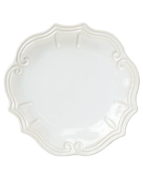 Vietri Incanto Stone White Baroque Dinner Plate collection with 1 products
