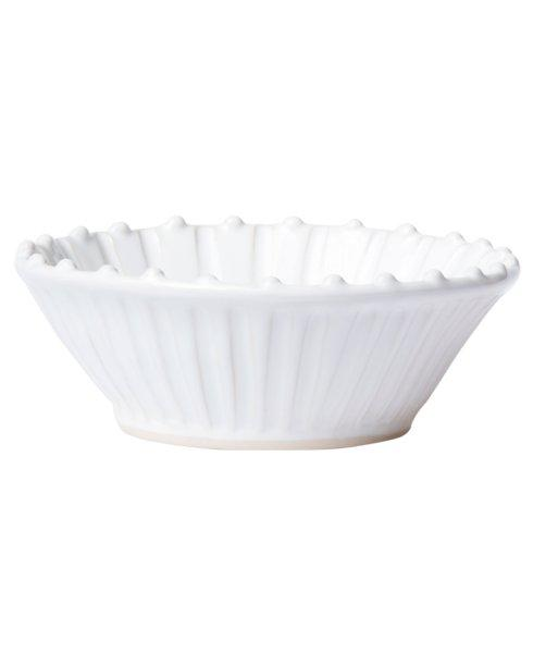 Vietri - Incanto Stone White Stripe Cereal Bowl collection with 1 products