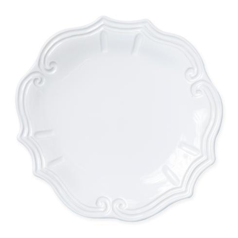 Vietri - Incanto Stone White Baroque Dinner Plate collection with 1 products