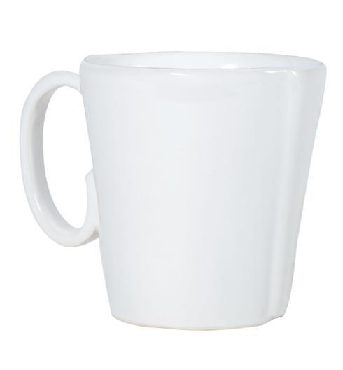 Plum Southern Exclusives   Vietri Lastra Mug (white) $39.00