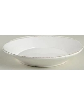 Vietri Lastra Pasta Bowl (white) collection with 1 products
