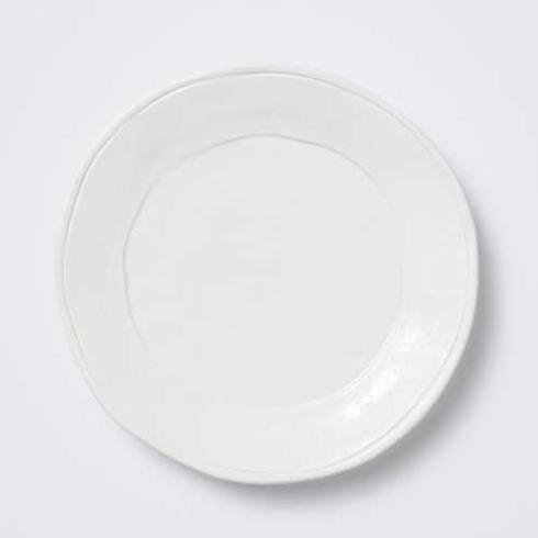 Plum Southern Exclusives   Viva by Vietri - Fresh - White Dinner Plate $27.00