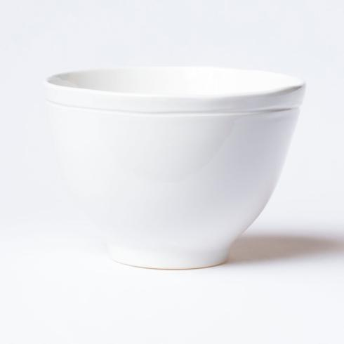 Plum Southern Exclusives   Viva Fresh White - deep serving bowl $63.00