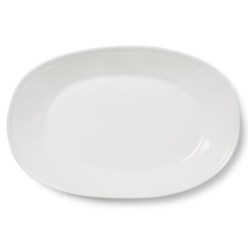 Plum Southern Exclusives   Viva Fresh White - large oval platter $126.00