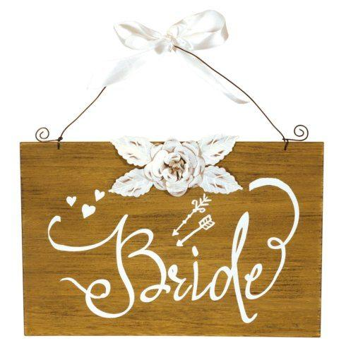 Plum Southern Exclusives   Bride Sign $14.99