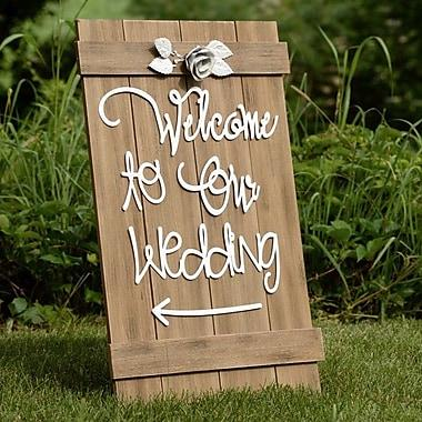 Plum Southern Exclusives   Wedding Sign $82.00