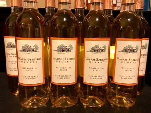 $25.00 Warm Springs Winery - Peach