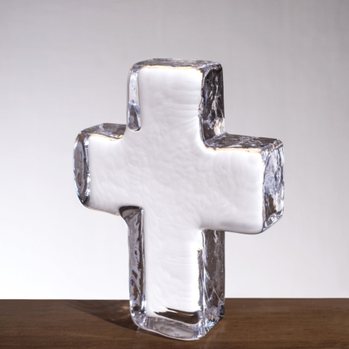 $65.00 CROSS IN GIFT BOX - 5 INCH