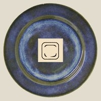 Md Sq Plate Indigo collection with 1 products