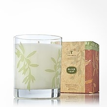 Thymes  Olive Leaf Poured Candle $30.00