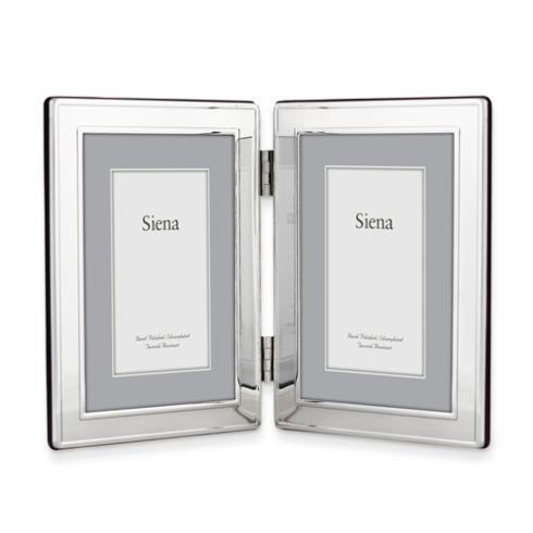 $50.00 Silver-Plated 5x7 Double Photo Frame