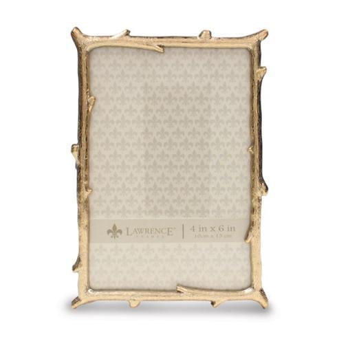 $25.00 Gold-Tone 4x6 Branch Photo Frame