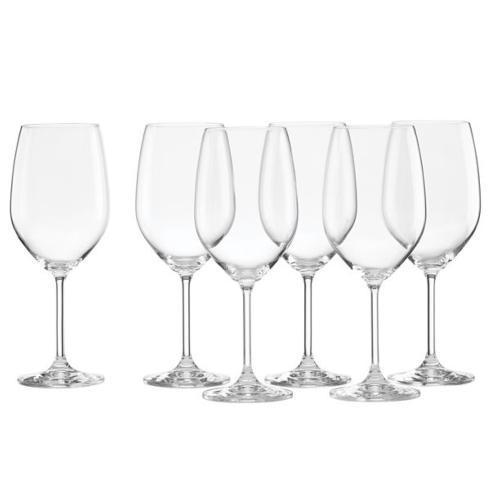 $45.00 Tuscany Classics White Wine Set Buy 4 Get 6