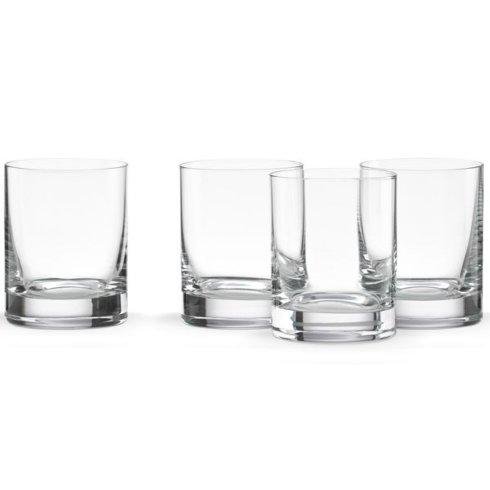 $45.00 Tuscany Classics 4-piece Double Old Fashioned Glass Set