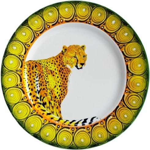 $44.00 Salad/Luncheon Plate 9' Cheetah