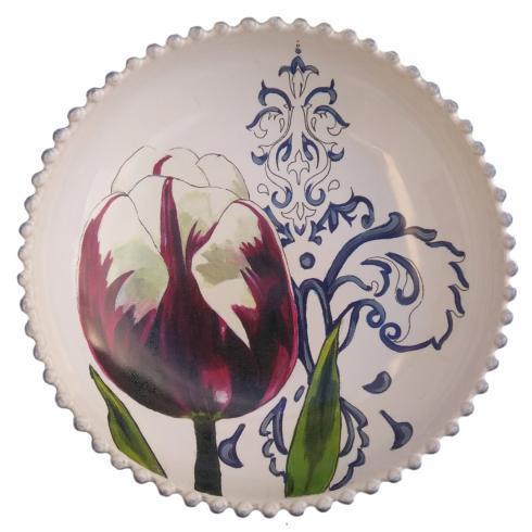 """$56.00 Bowl 9"""" Tulip"""