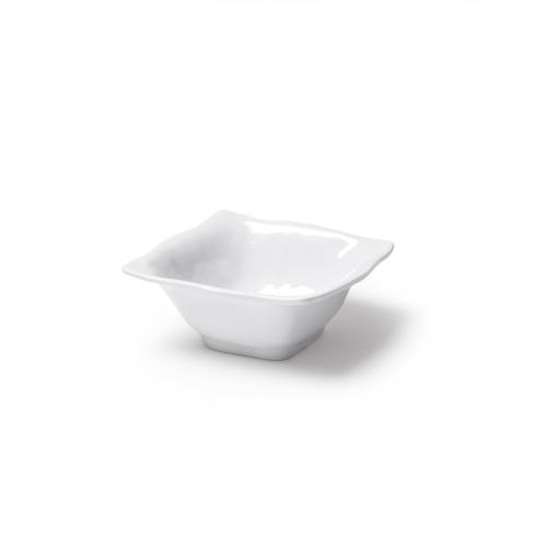 "Q Squared Ruffle Serveware 3.5"" Square Dip Bowl $4.00"