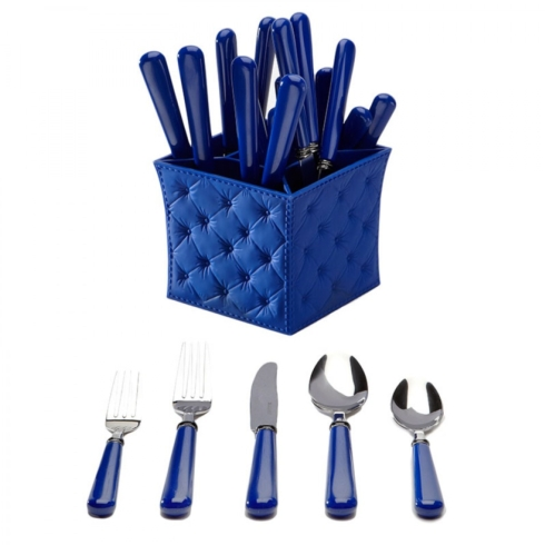$56.00 Blue 20pc Set with Caddy