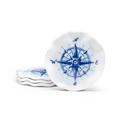 $15.00 Compass S/4 Coasters