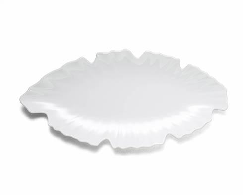 Q Squared Q Zen White Small Platter $33.00