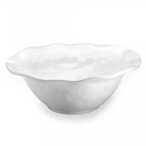 Q Squared  White Serving Bowl (Round) $30.00