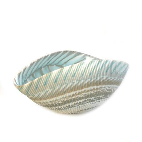 $349.00 58118 Shell bowl Turquoise Large