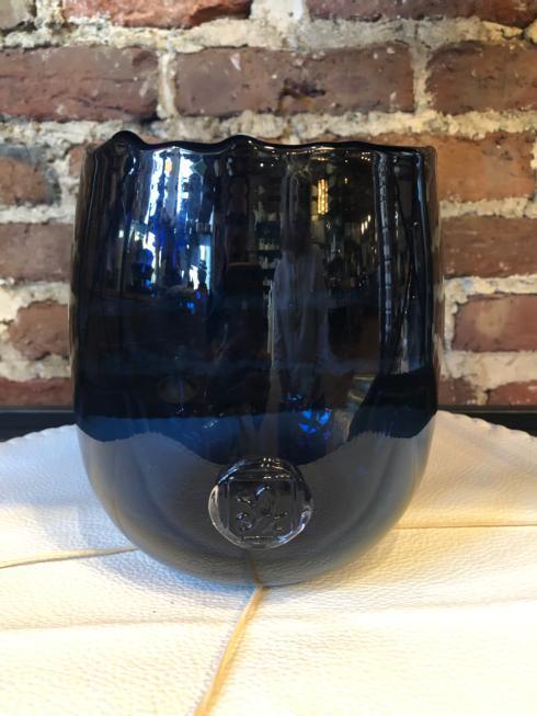 $69.00 Abigail Large Blue Vase