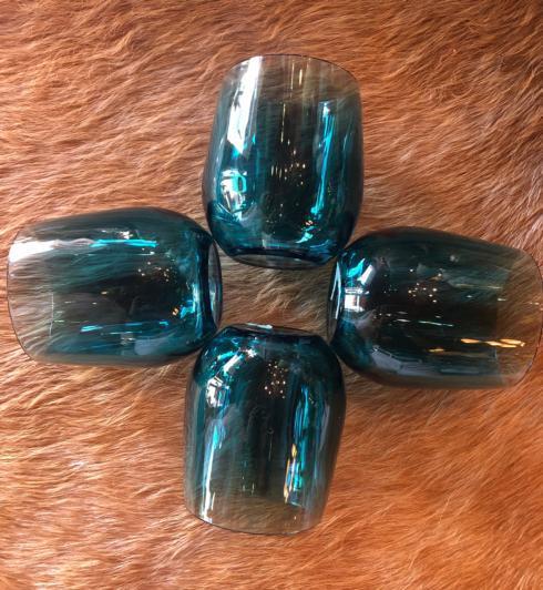 $6.95 Acrylic Tourquoise Glasses