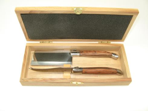 2 piece Laguiole Rosewood cheese set