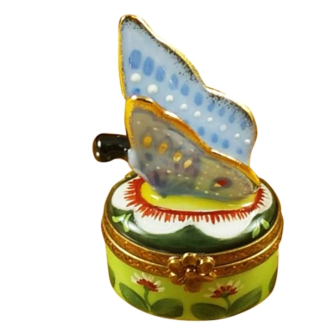 $229.00 BUTTERFLY - BLUE & GOLD