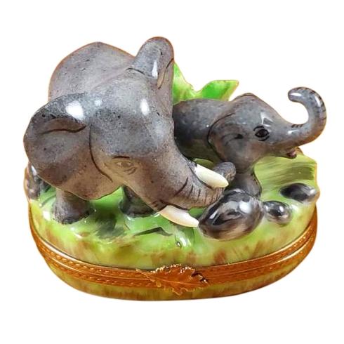 $299.00 Elephant W/Baby