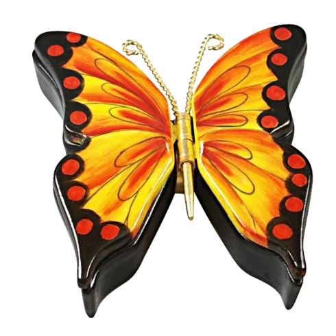 $289.00 DOUBLE HINGED MONARCH BUTTERFLY