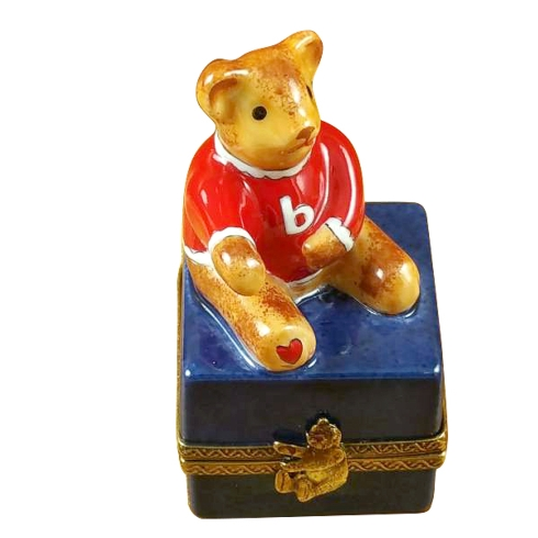 $159.00 Small Bear On Blue Base