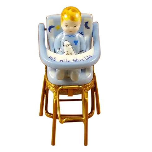 $349.00 Baby High Chair Blue