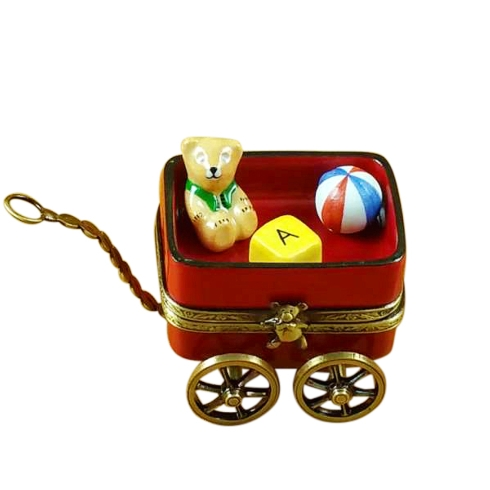 $269.00 Red Wagon With Bear