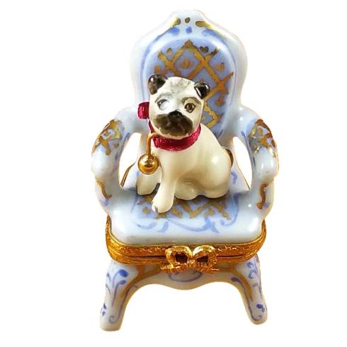 $399.00 Pug On Armchair