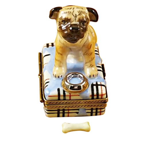 $289.00 PUG WITH SPILT WATER & REMOVABLE BONE