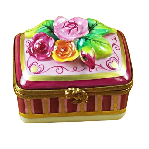 $329.00 Roses Relief On Rectangle Base