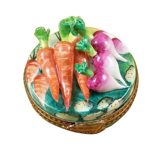 $199.00 Radish & Carrot On Sm Round